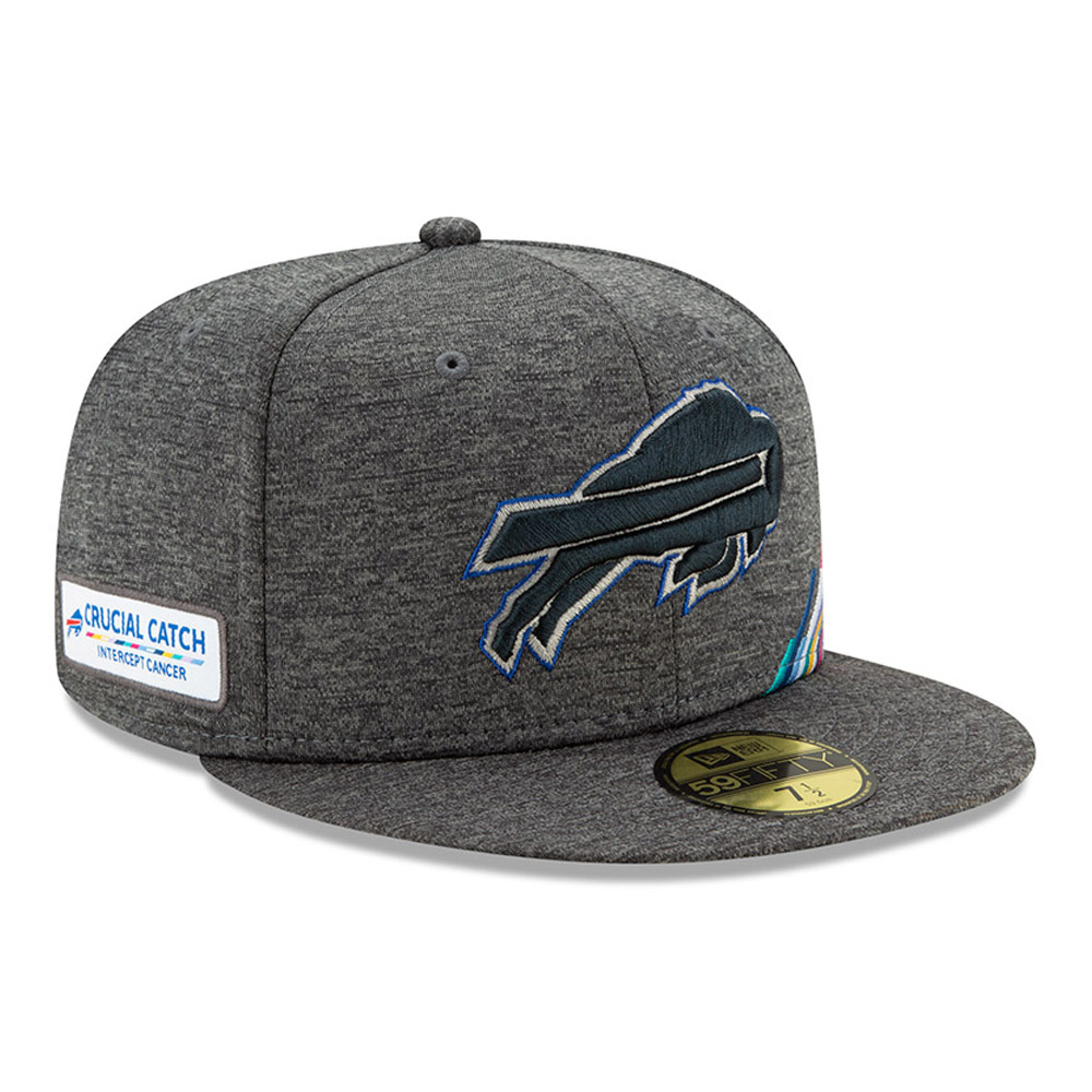 Cappellino 59FIFTY Buffalo Bills Crucial Catch grigio