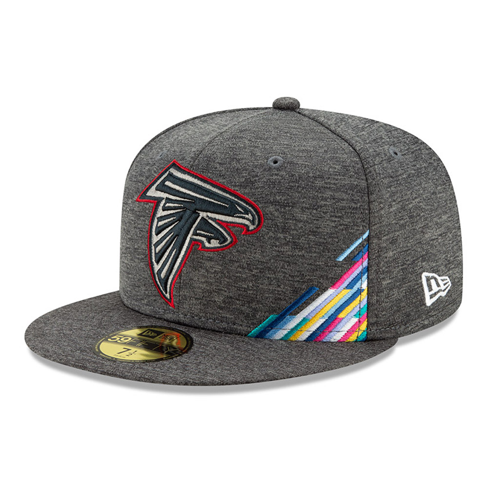 Atlanta Falcons – Graue Crucial Catch 59FIFTY-Kappe