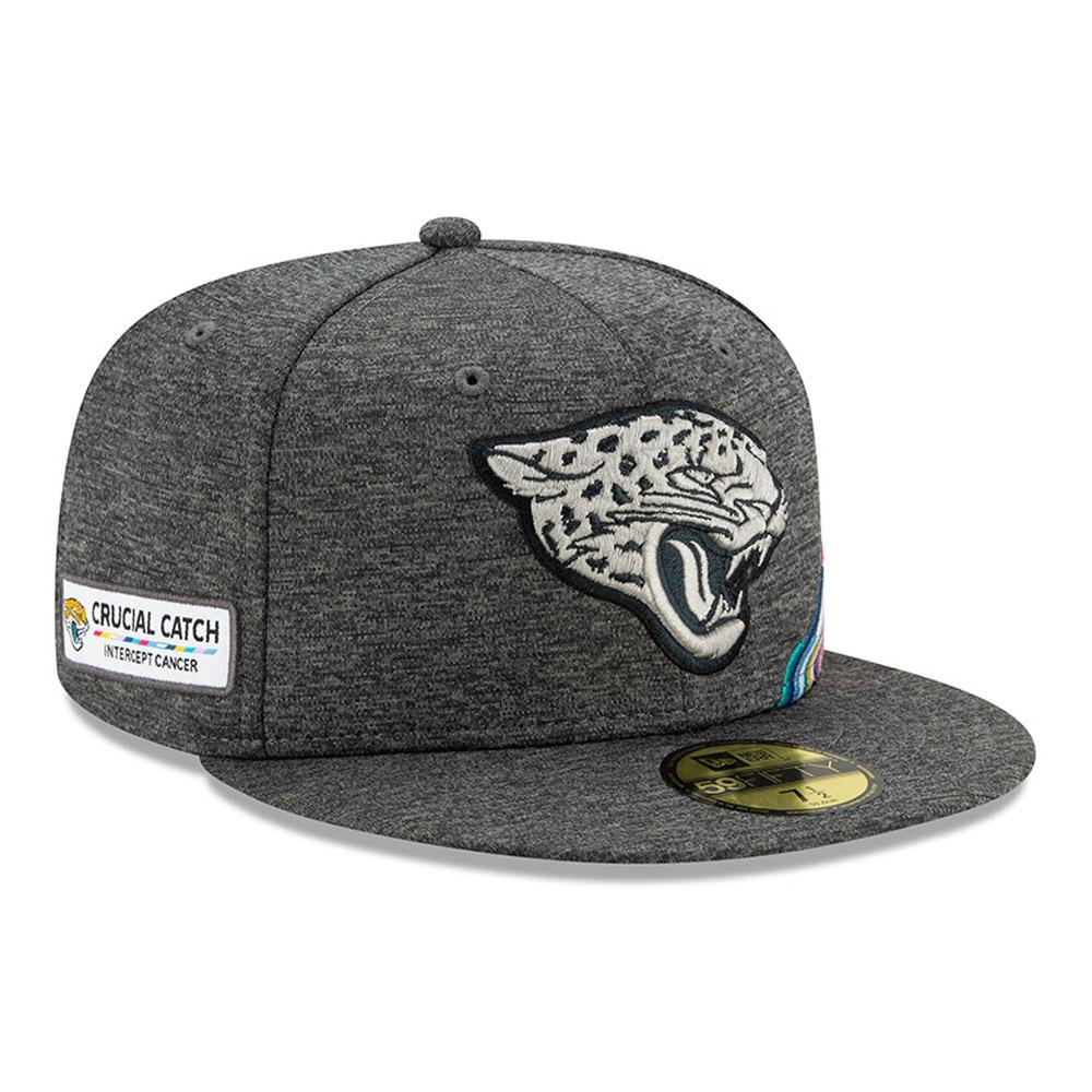 Gorra Jacksonville Jaguars Crucial Catch 59FIFTY, gris