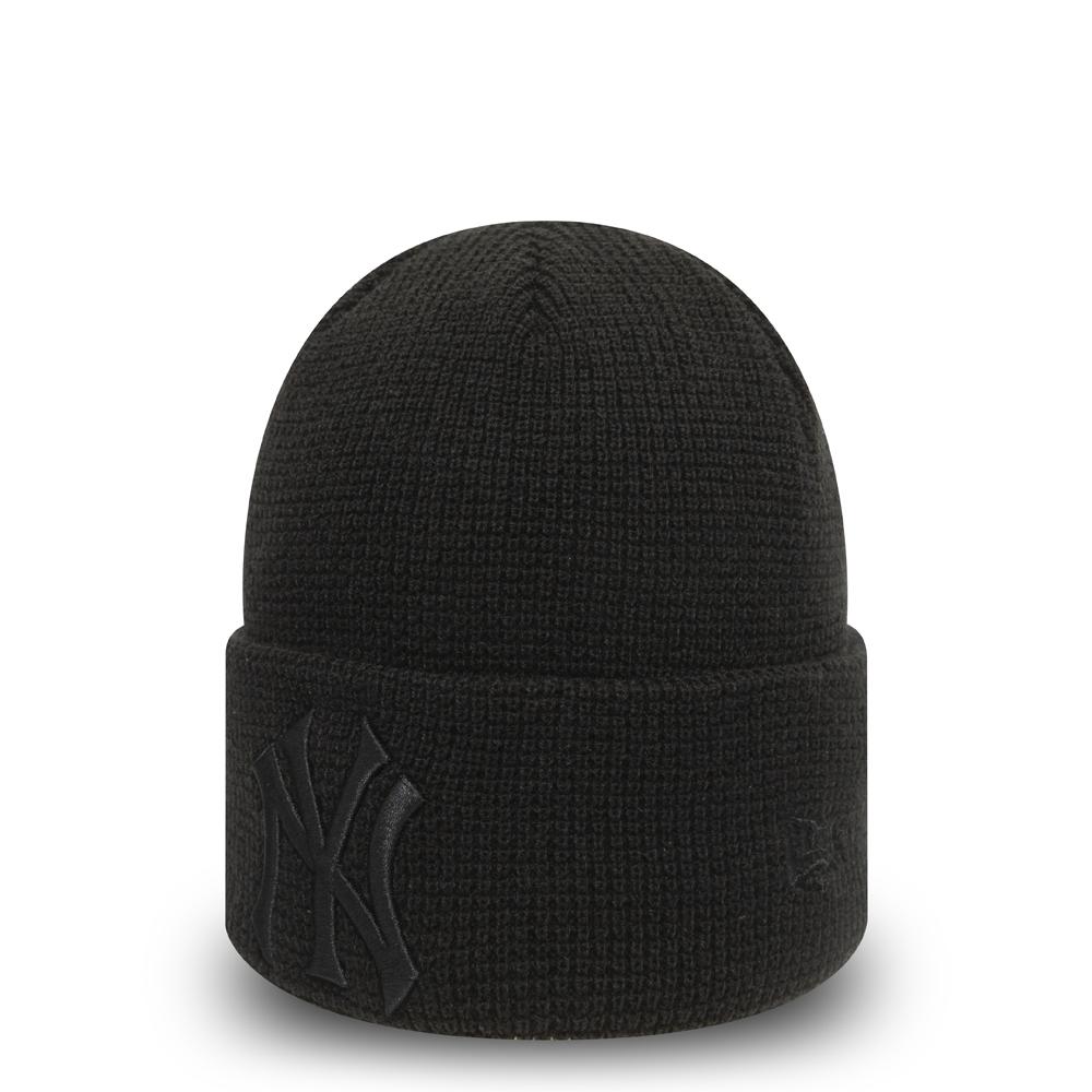 New York Yankees Essential noir avec revers femme