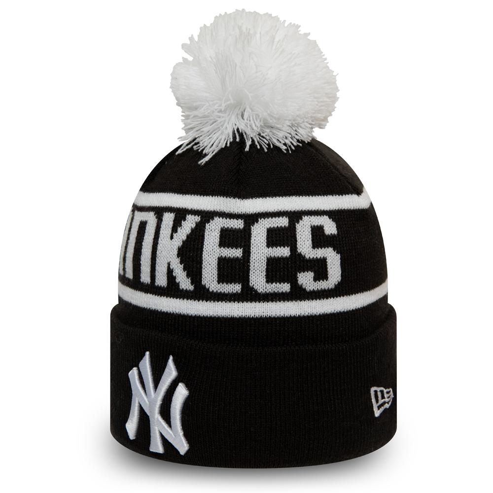 New York Yankees – Strickmütze mit Bommel