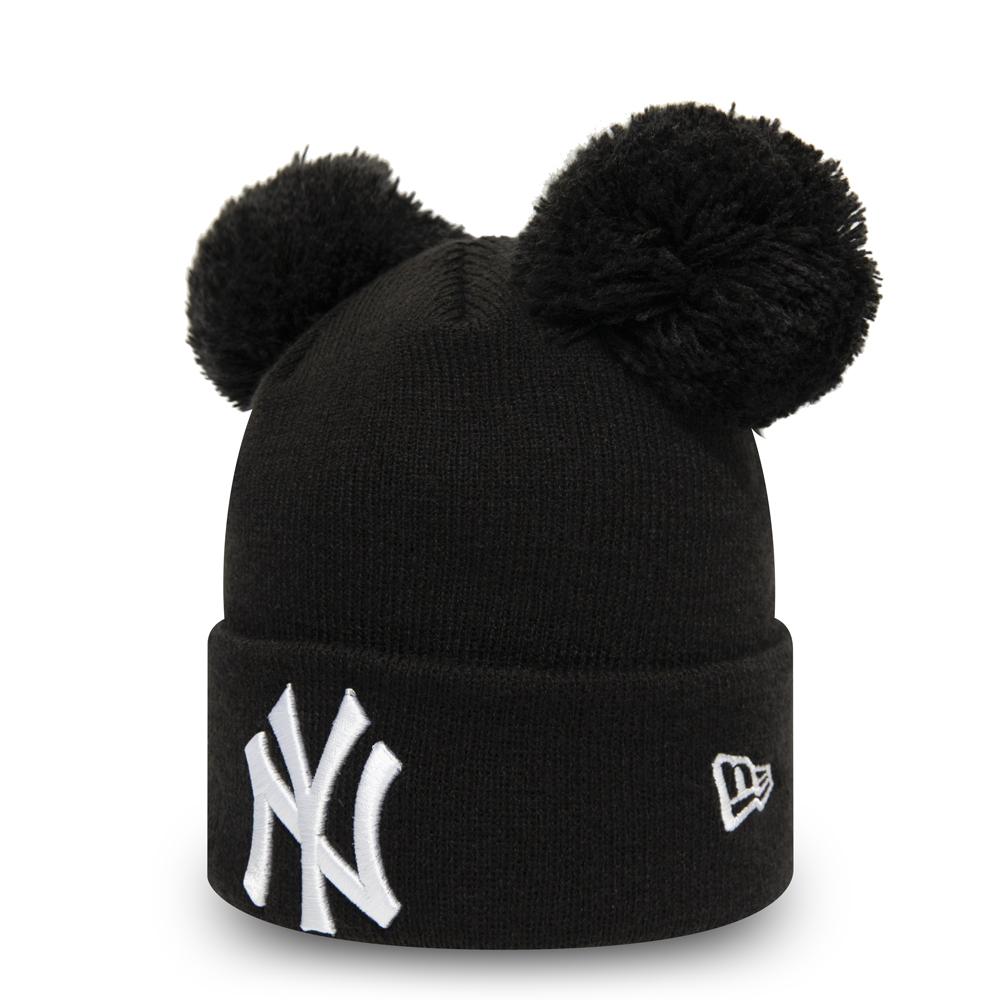 Bonnet à deux pompons des Yankees de New York pour enfants