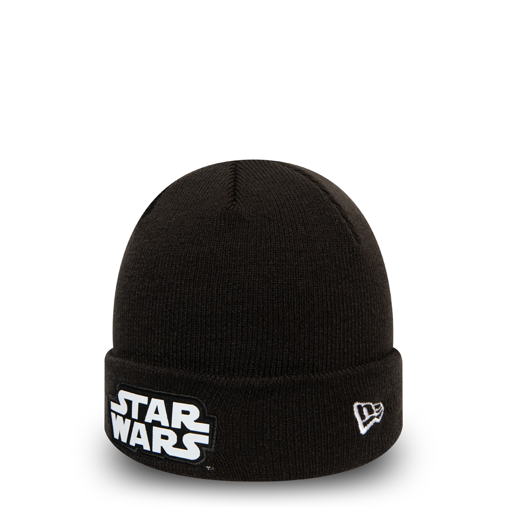 Star Wars Character Kids Black Cuff Knit