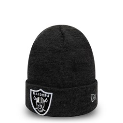 Bonnet à revers gris chiné Oakland Raiders Essential