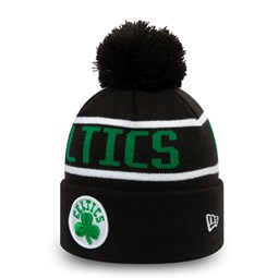 Boston Celtics Kids Essential Black Bobble Knit