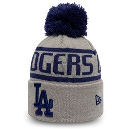 Los Angeles Dodgers Kids Grey Bobble Knit