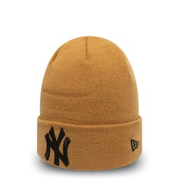 New York Yankees Kids Essential Yellow Cuff Knit