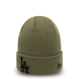 Los Angeles Dodgers Kids Essential Olive Cuff Knit