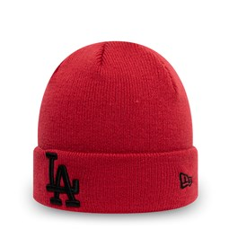Los Angeles Dodgers Kids Essential Red Cuff Knit