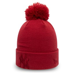 New York Yankees Kids Essential Red Bobble Knit