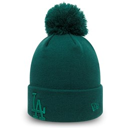 Los Angeles Dodgers Kids Essential Green Bobble Knit