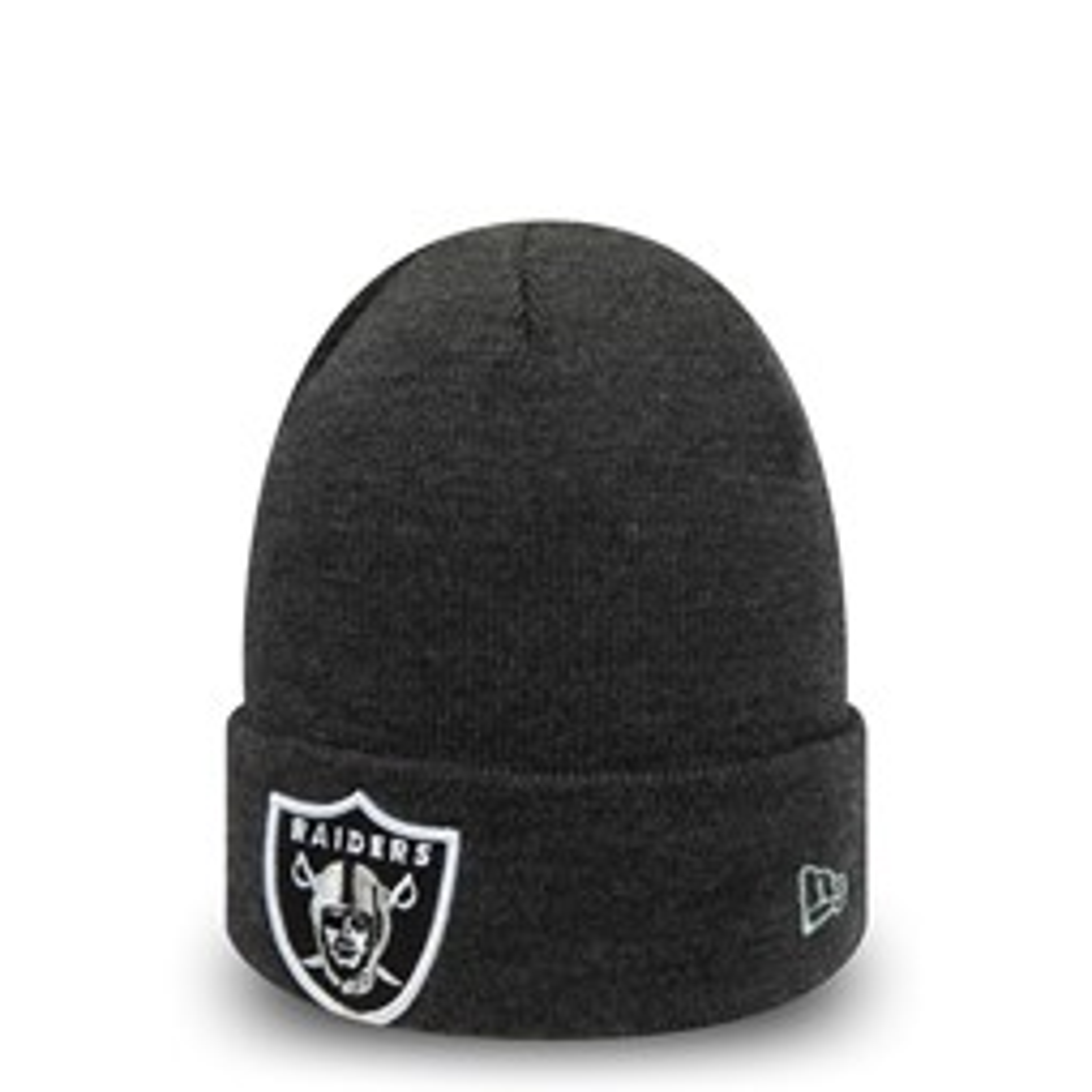 Gorro de punto Oakland Raiders Essential niño, gris