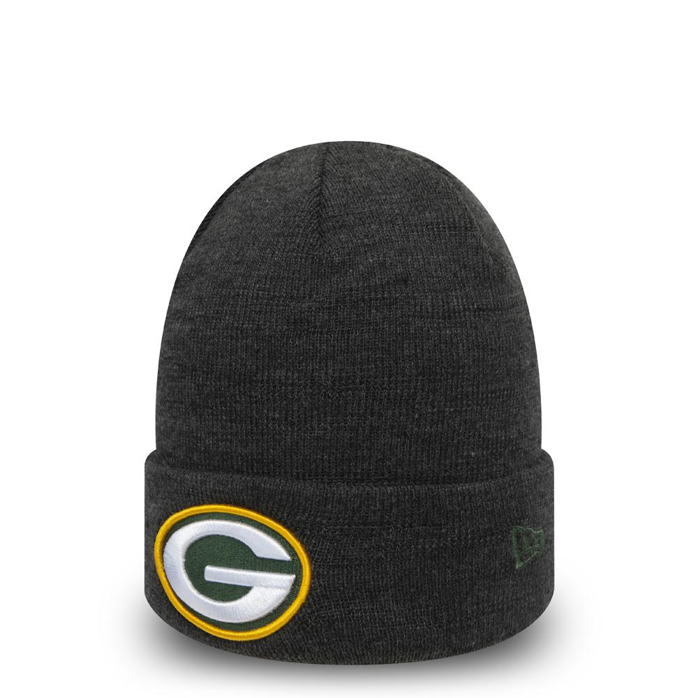 Gorro de punto Green Bay Packers Essential niño, gris