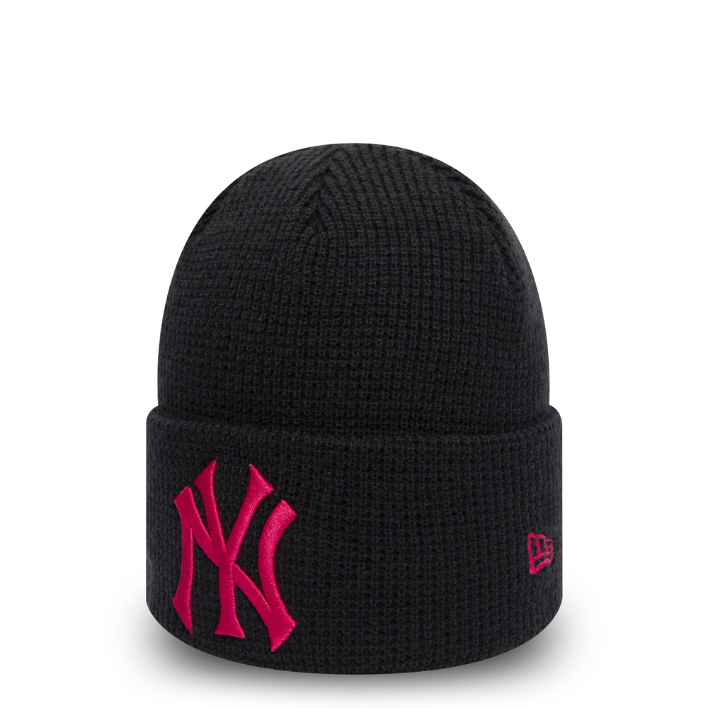 New York Yankees Womens Essential Navy Cuff Knit