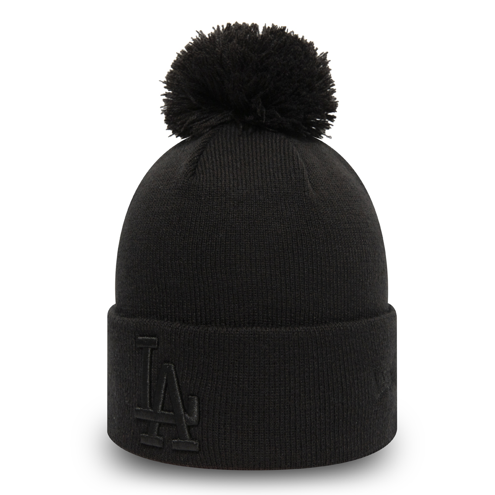 Los Angeles Dodgers Womens Black Bobble Knit
