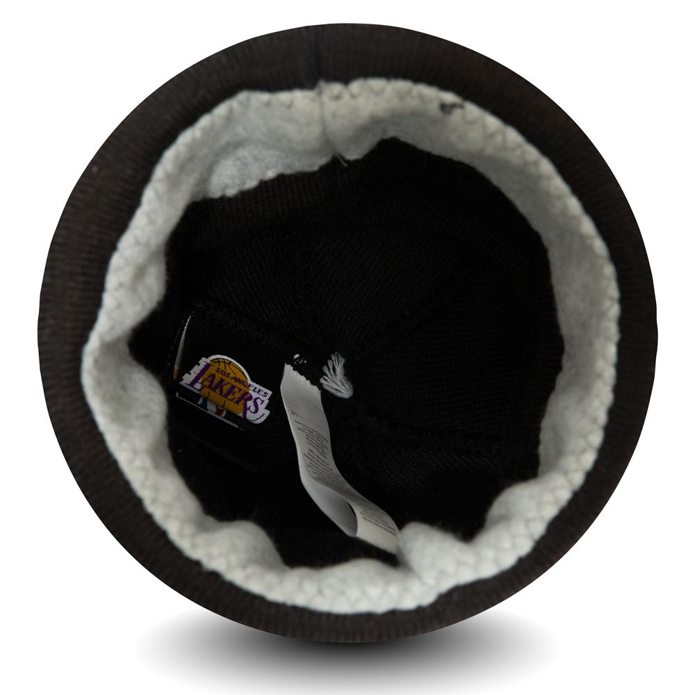 Bonnet Los Angeles Lakers Bobble noir