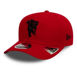 Rote9FIFTY-Kappe mit Stretch Snap von Manchester United