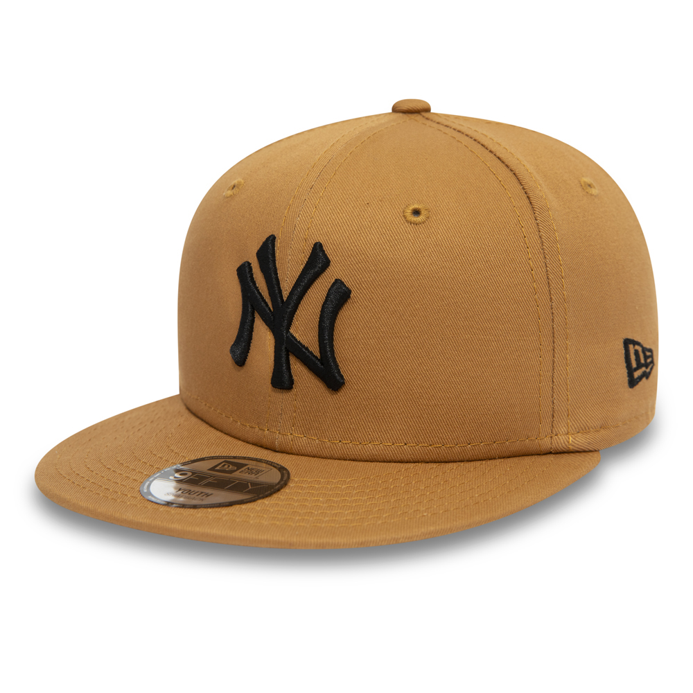 Casquette 9FORTY New York Yankees Essential jaune enfant