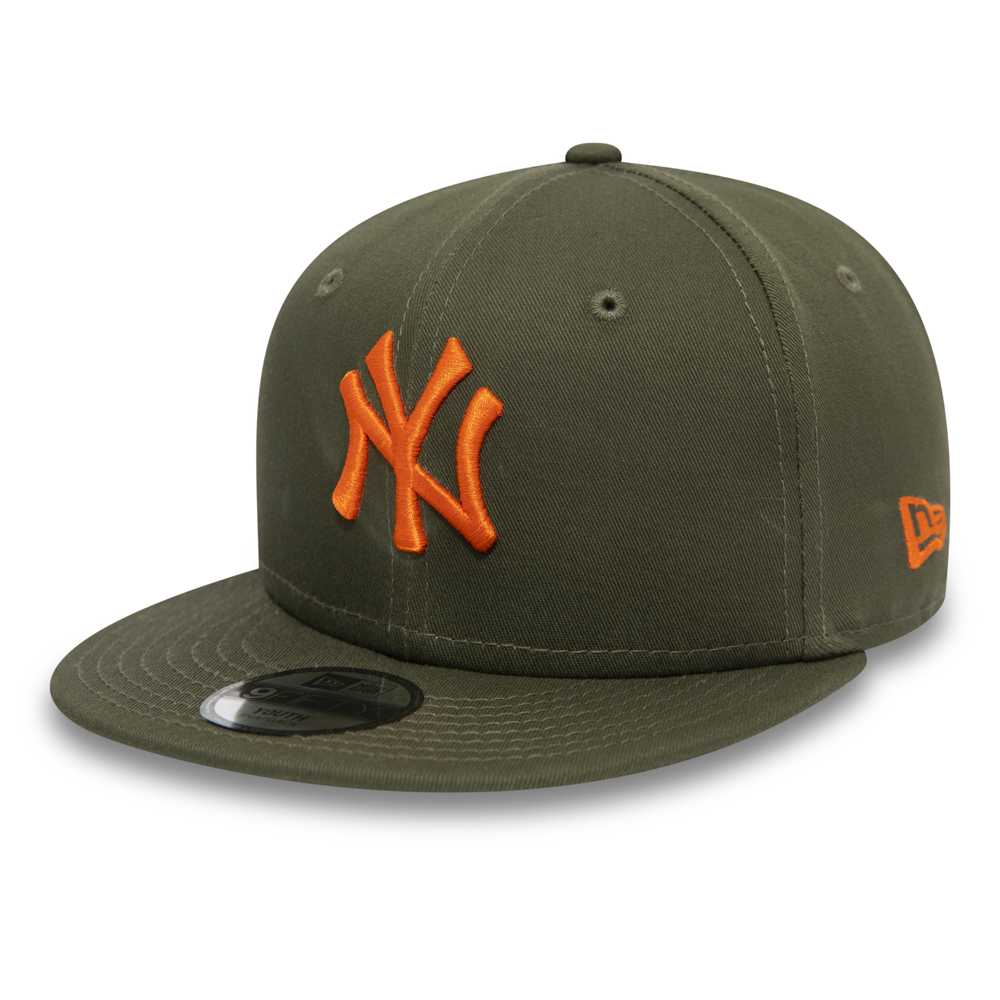 Casquette 9FORTY New York Yankees Essential vert enfant