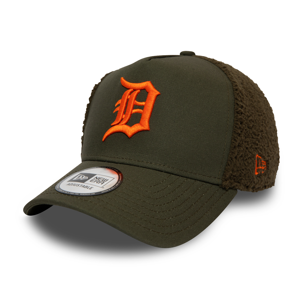 Detroit Tigers Sherpa Green Trucker Cap