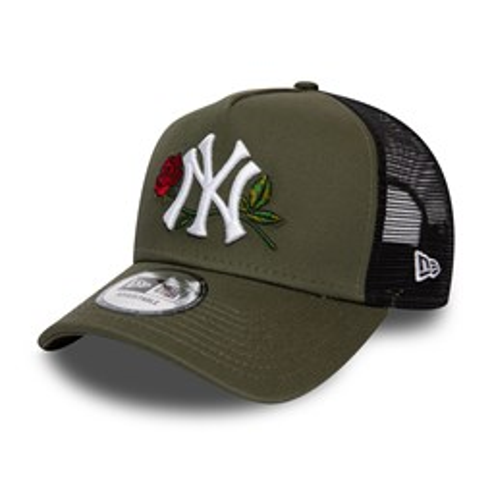 Cappellino Trucker dei New York Yankees twine verde