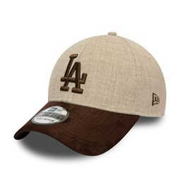 Gorra Los Angeles Dodgers Contast 39THIRTY, crema