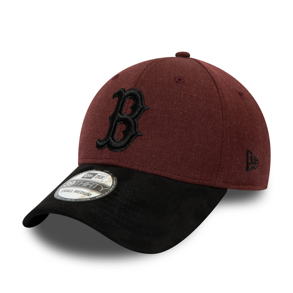 Casquette 39THIRTY rouge contrastant des Boston Red Sox
