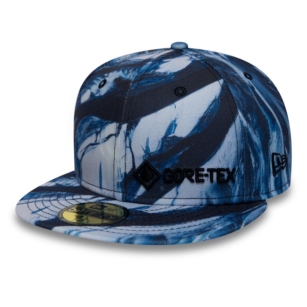 New Era – Blaue Gore-Tex Winterscape 59FIFTY-Kappe