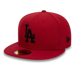59FIFTY-Kappe – Los Angeles Dodgers – Essential – Rot