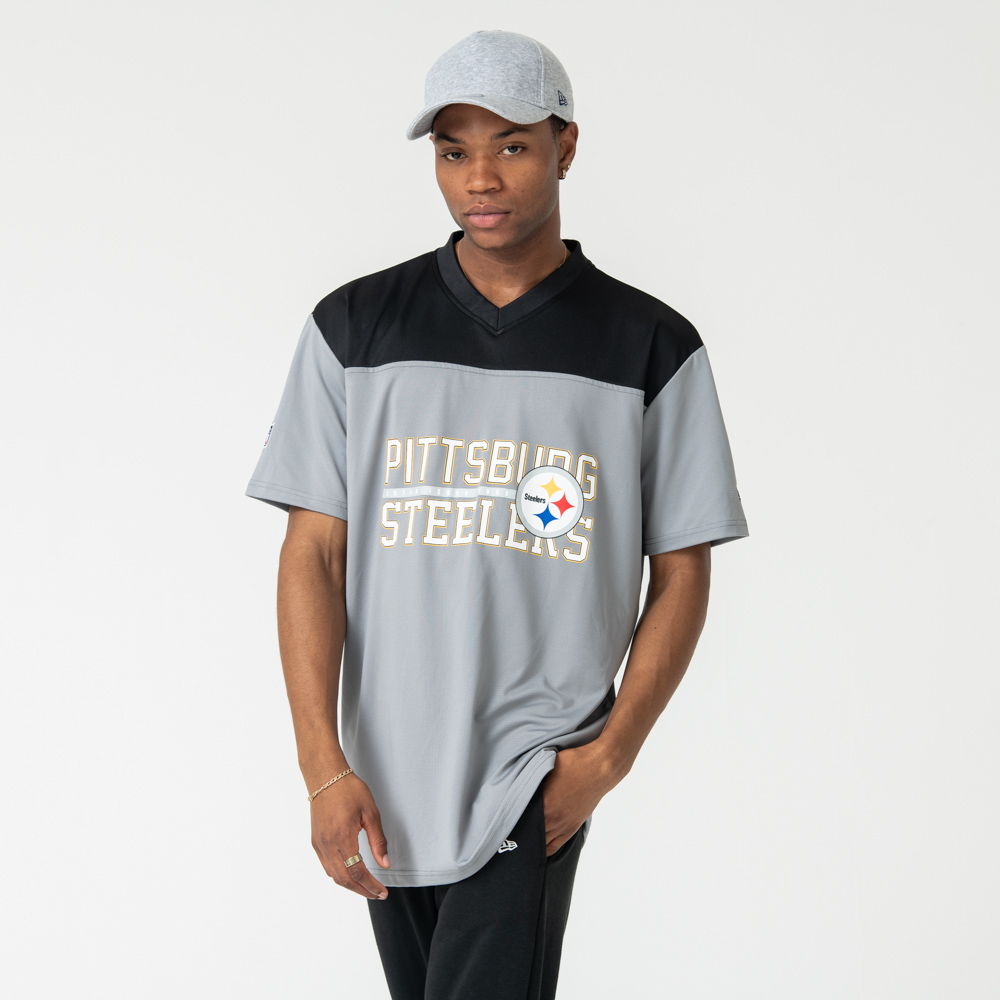 Pittsburgh Steelers Stacked Wordmark Oversized Tee