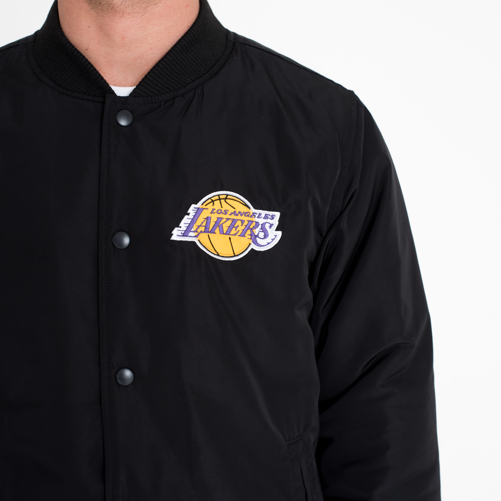 Blouson Los Angeles Lakers noir
