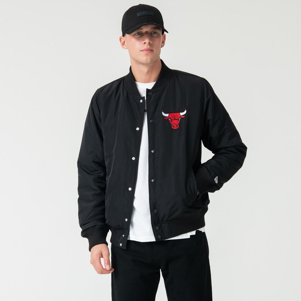 Blouson aviateur Chicago Bulls noir