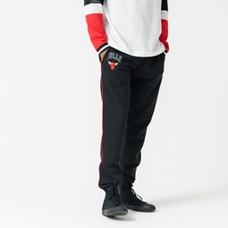 Chicago Bulls Piped Black Jogger