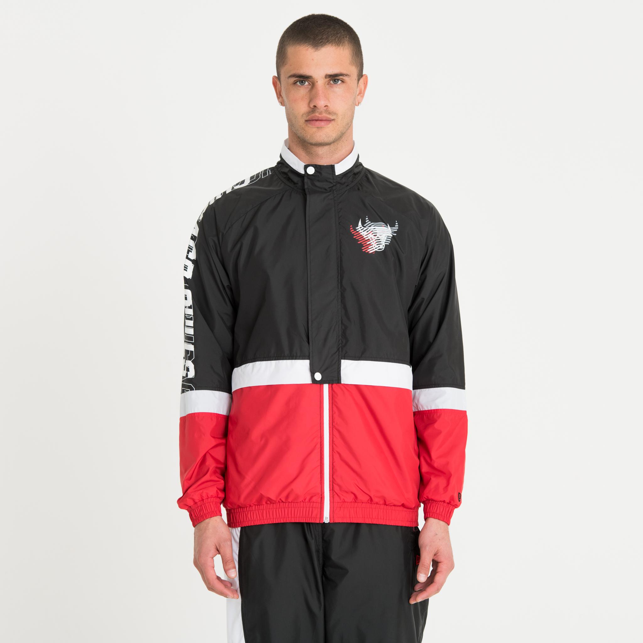 Trainingsjacke der Chicago Bulls mit Colour-Block