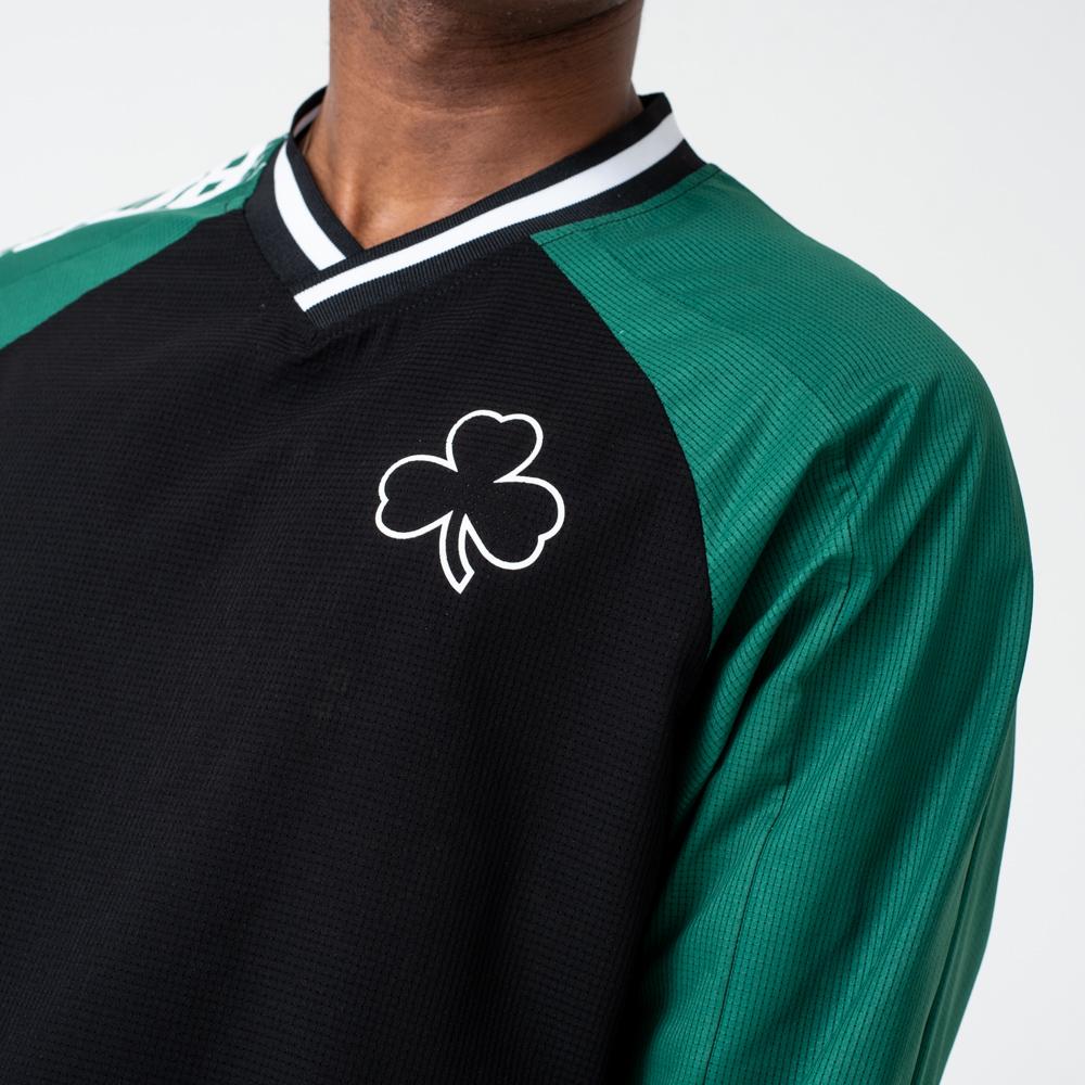 T-shirt manches longues des Boston Celtics colour block