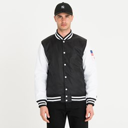 New Era Far East Flagged Varsity Jacket