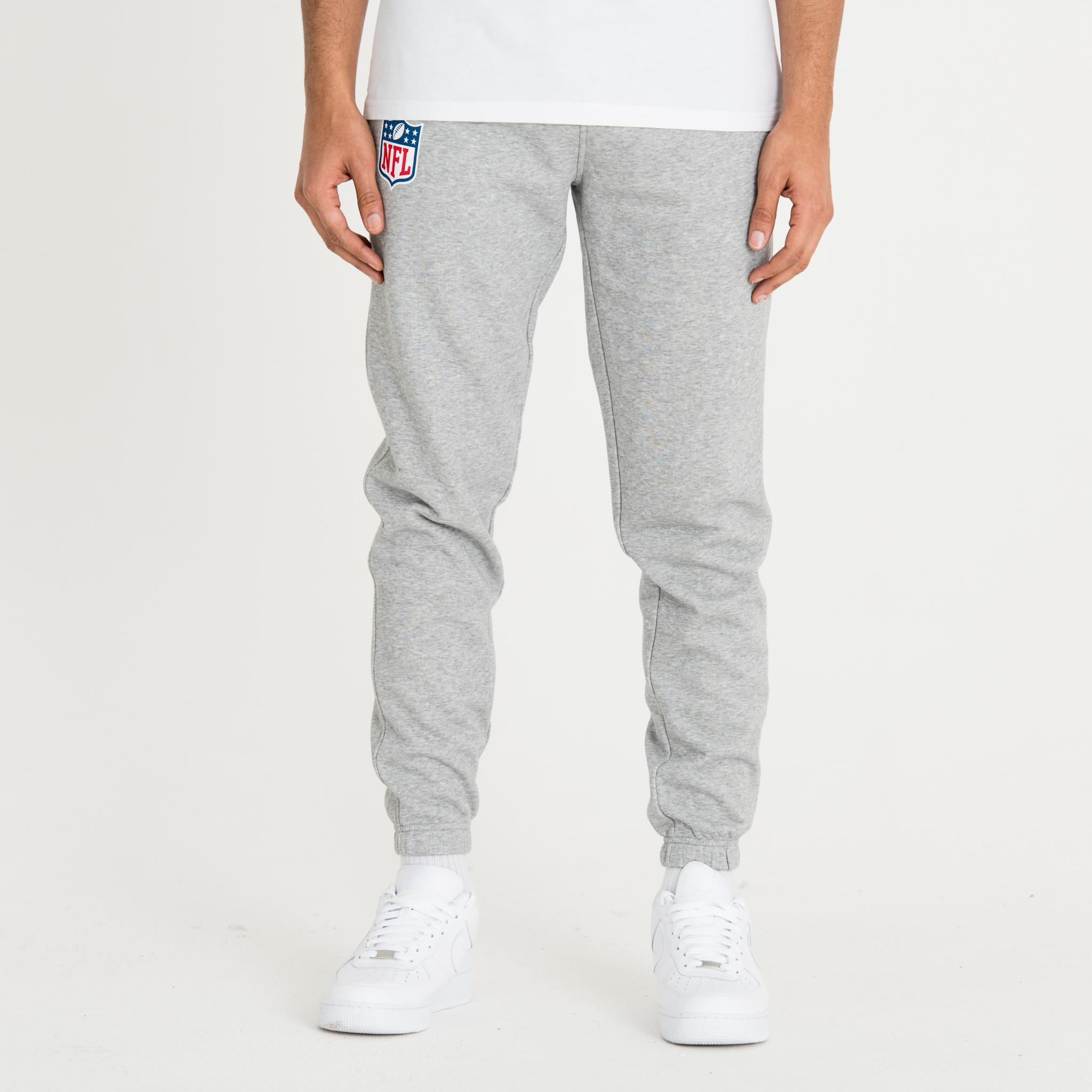 Pantalon de jogging gris logo NFL