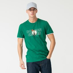 T-Shirt der Boston Celtics Green mit Grafik