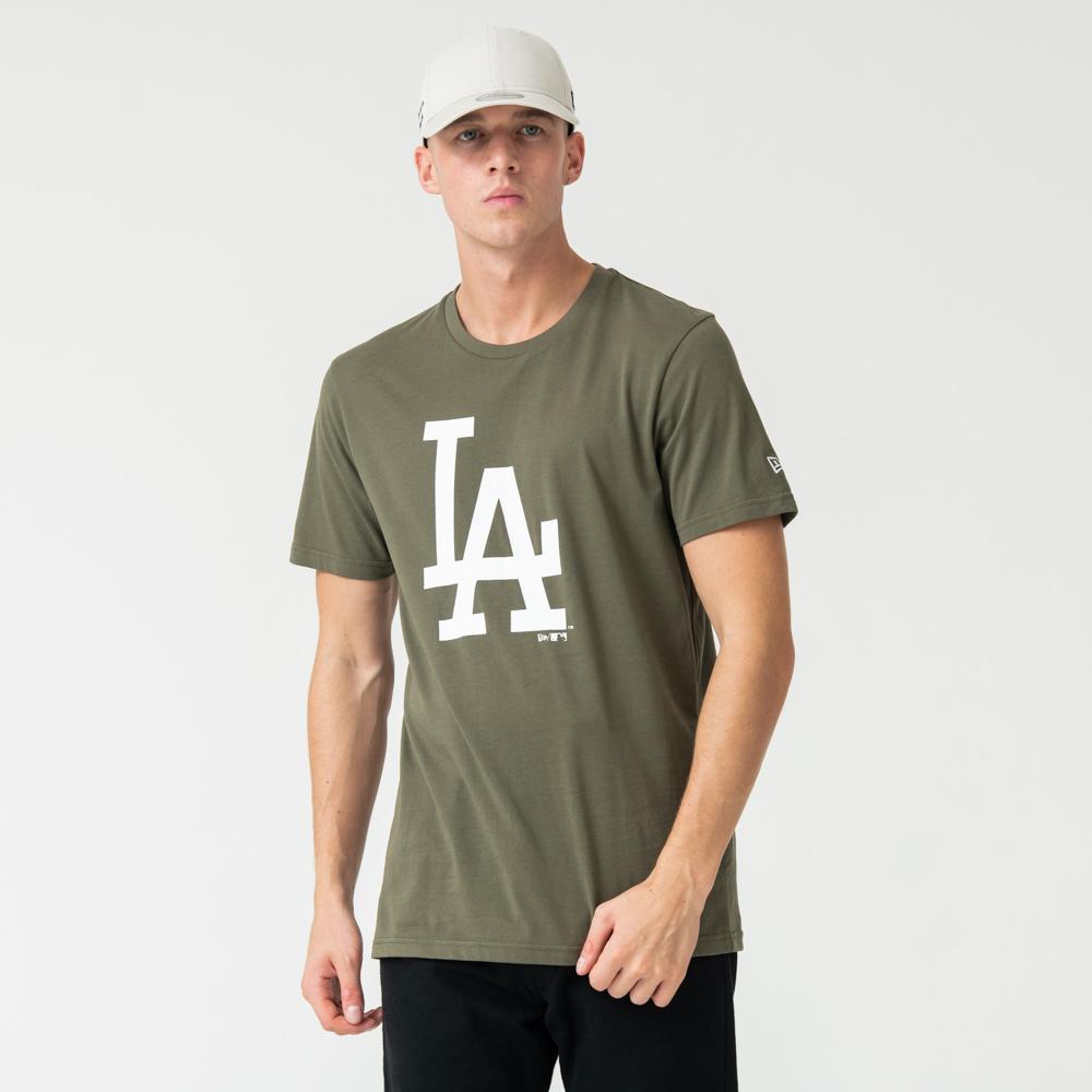 T-shirt Los Angeles Dodgers vert à logo