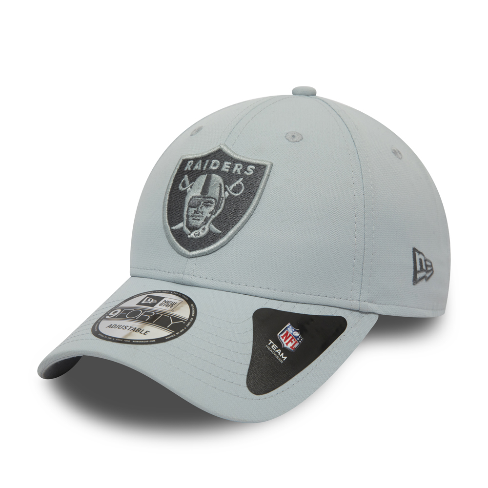 Oakland Raiders – Graue 9FORTY-Kappe – Camouflage