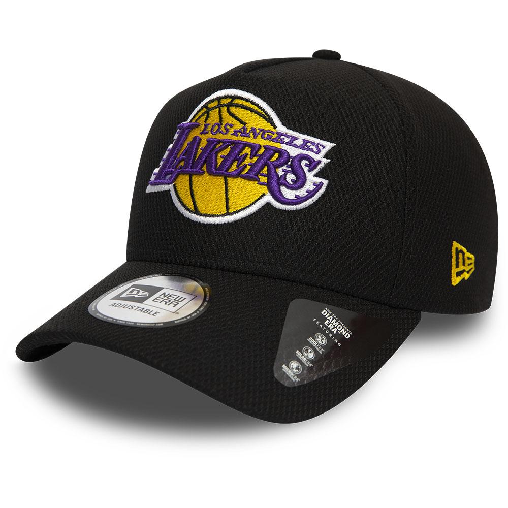 Los Angeles Lakers – Trucker-Kappe mit A-Rahmen in Schwarz