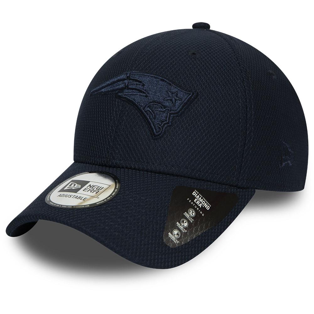 Marineblaue Mono 9FORTY-Kappe der New England Patriots