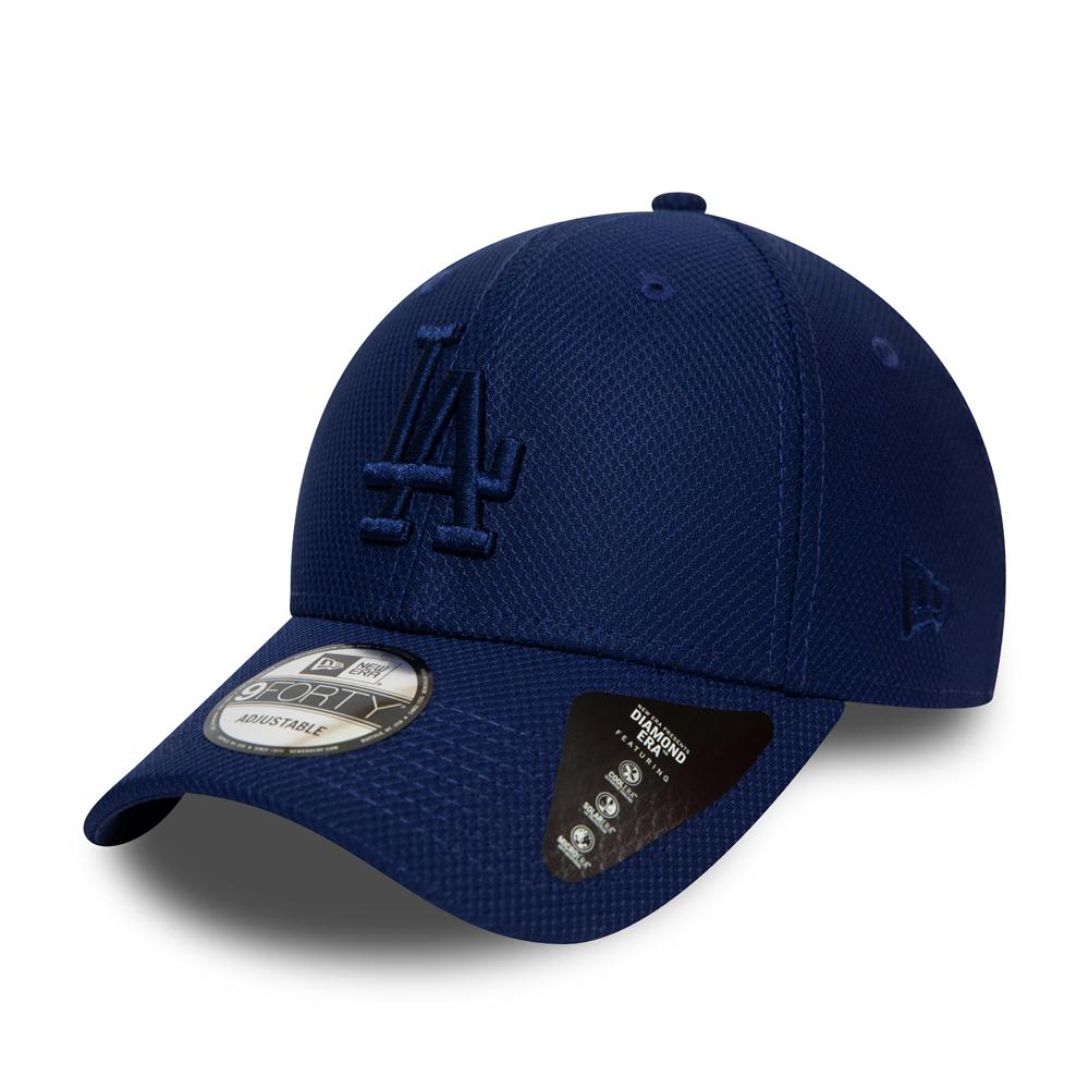 Gorra Los Angeles Dodgers 9FORTY, azul monocromático