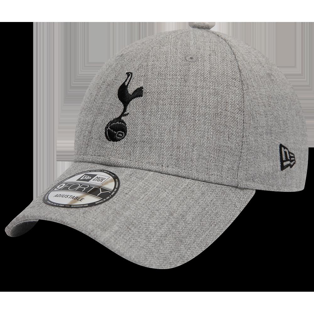 Casquette 9FORTY gris chiné de Tottenham Hotspur FC