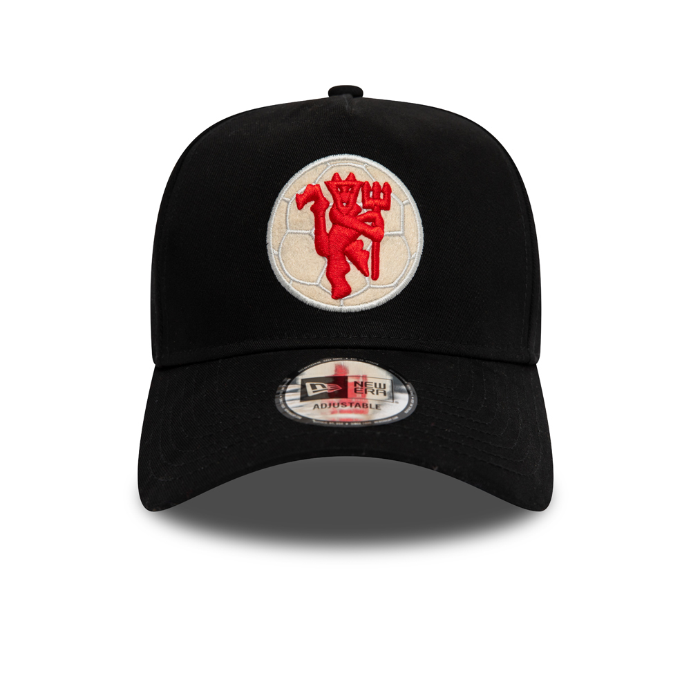 Manchester United Black 9FORTY A Frame Cap