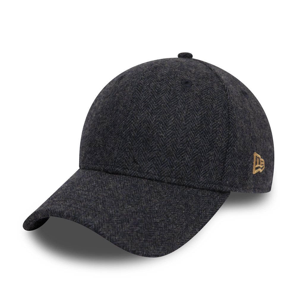 New Era Herringbone Navy 9FORTY Cap