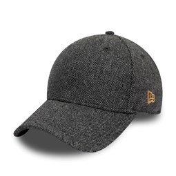 Gorra New Era Herringbone 9FORTY, gris