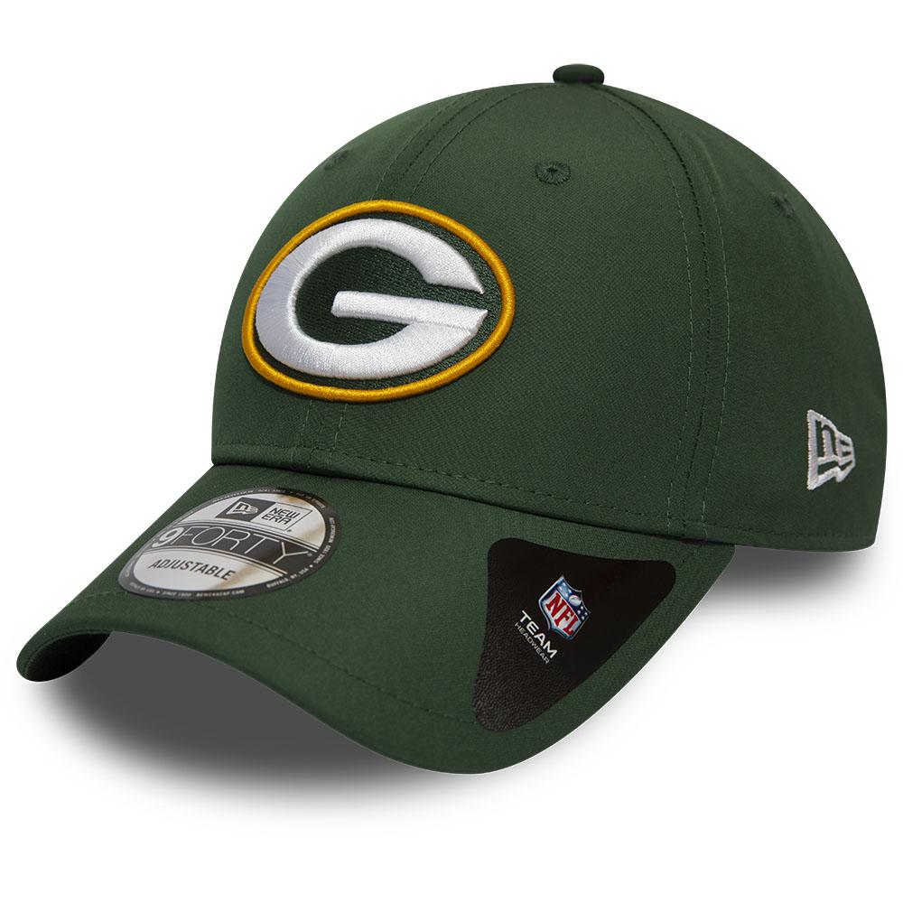"Green Bay Packers – 9FORTY-Kappe ""Winter Script"" in Grün"