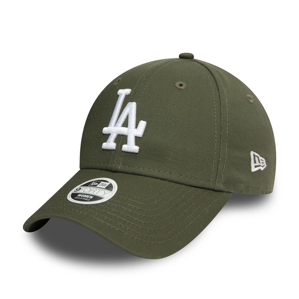 Casquette 9FORTY Essential verte des Dodgers de Los Angeles pour femmes