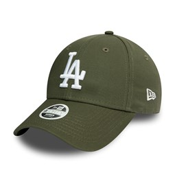 Los Angeles Dodgers Essential Womens Green 9FORTY Cap